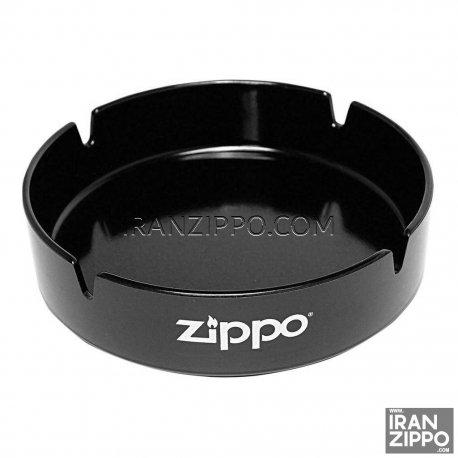 Zippo Black Ashtray