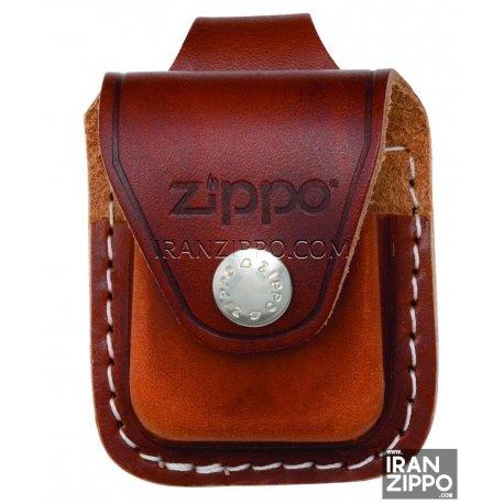 Brown Lighter Pouch- Loop
