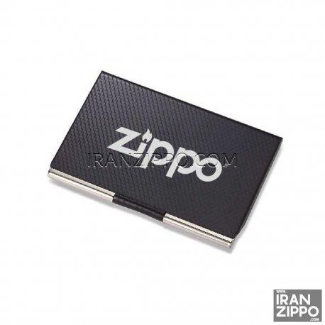 Black Zippo Card Case