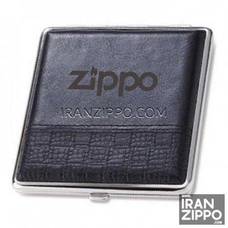 Zippo Leather & Metal Cigarette Case