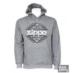 Zippo Gray Hoodie