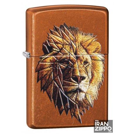 Zippo 29865 | USA | Polygonal Lion Design
