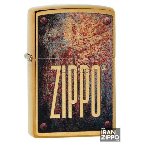 Zippo 29879 | USA | Rusty Plate