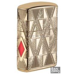 فندک اصل زیپو مدل 29671 | آمریکا | Luxury Diamond