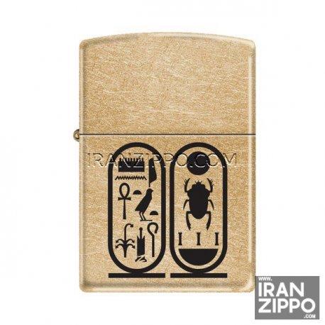 فندک اصل زیپو مدل 207G | Tutankhamon | کلاسیک